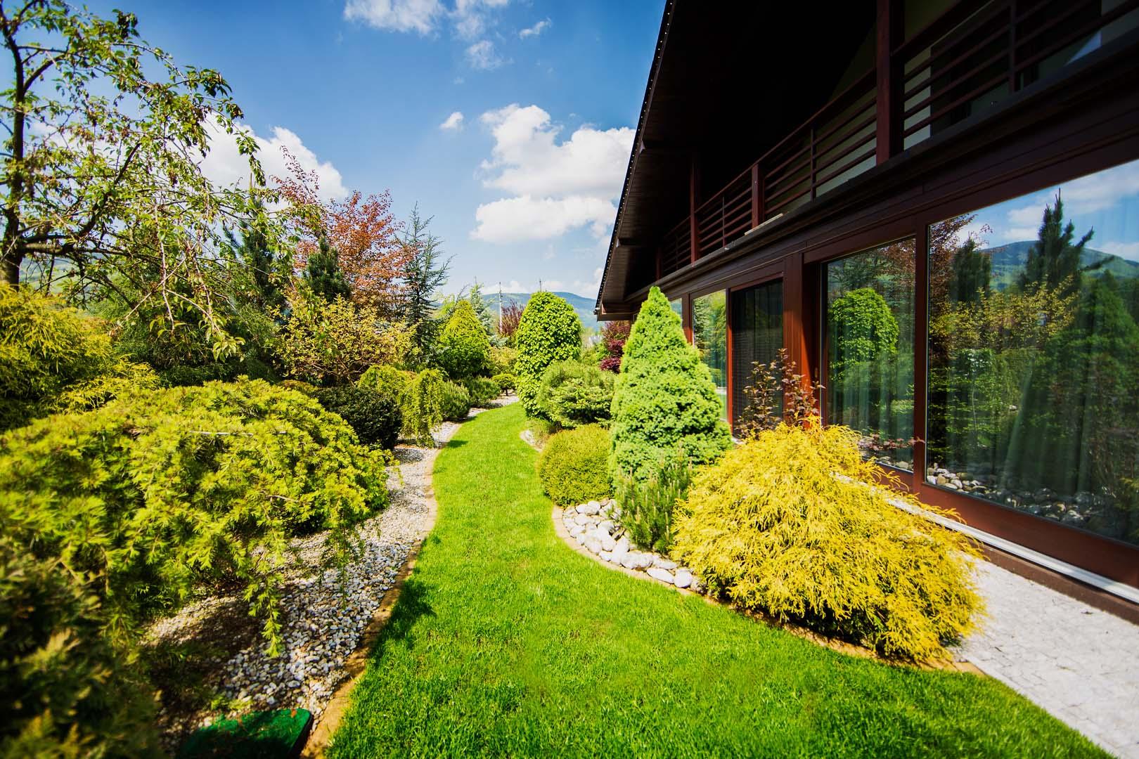 Dizajn záhrady dom Dětmarovice