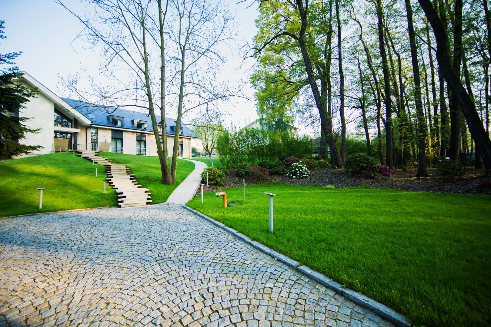 Záhrada a okolie Villa Lariš Petrovice